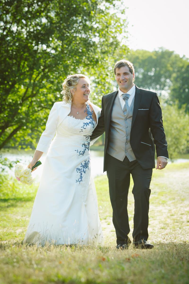 portrait couple mariés