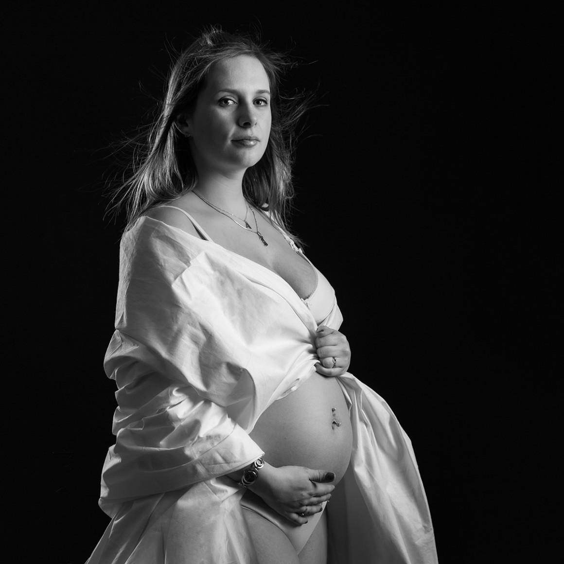 Portrait femme enceinte